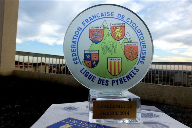 Trophée de France présenté à notre AG