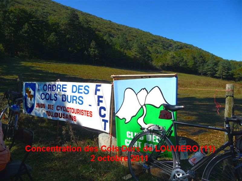 Concentration des Cols Durs de LOUVIERO 2 octobre 2011