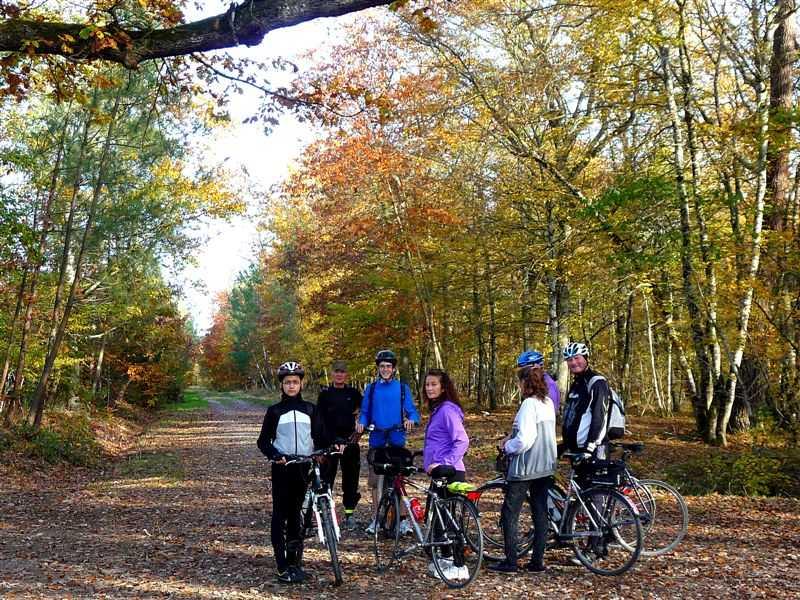 Sorties d`automne Journée cyclo-pédestre